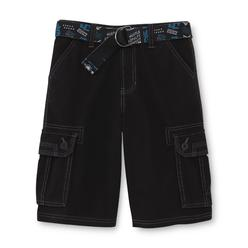 Never Give Up™ By John Cena® Boy's Woven Cargo Shorts & Belt - Pinstriped at Kmart.com