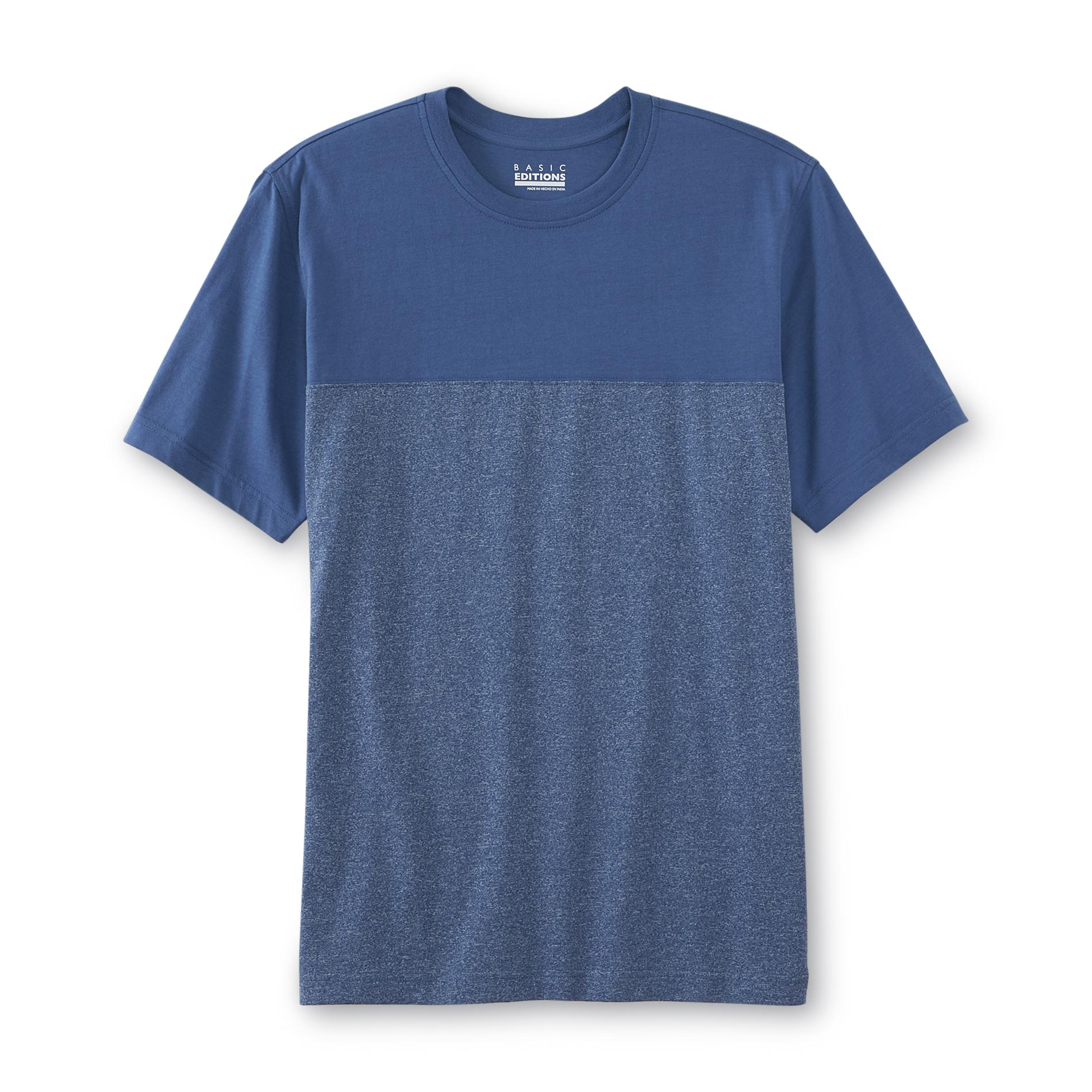 Basic Editions Men's Pieced T-Shirt