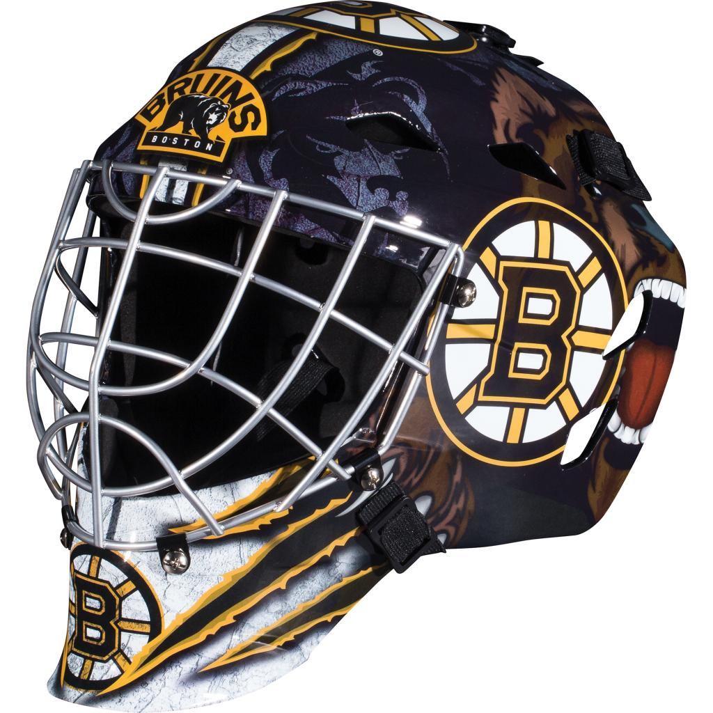 Franklin Sports GFM 1500 NHL Boston Bruins Goalie Face Mask