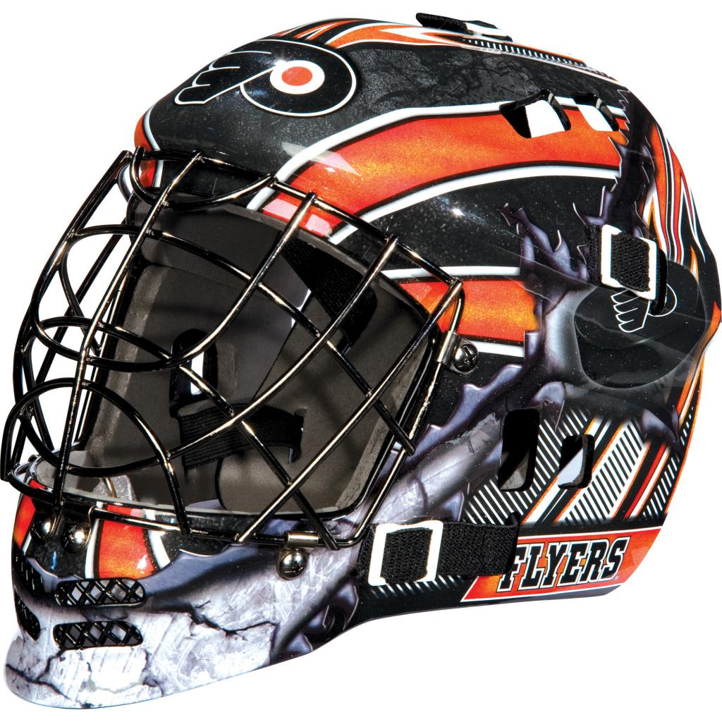Franklin Sports Franklin Sports GFM 1500 NHL Philadelphia Flyers Goalie Face Mask