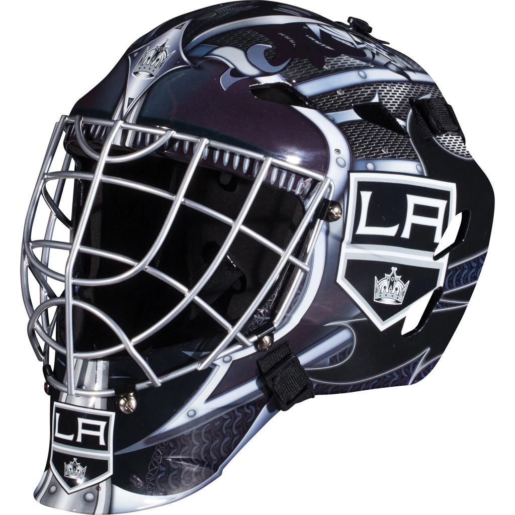 Franklin Sports Franklin Sports GFM 1500 NHL Los Angeles Kings Goalie Face Mask PartNumber: 00688927000P KsnValue: 6973672 MfgPartNumber: 74005F12E2