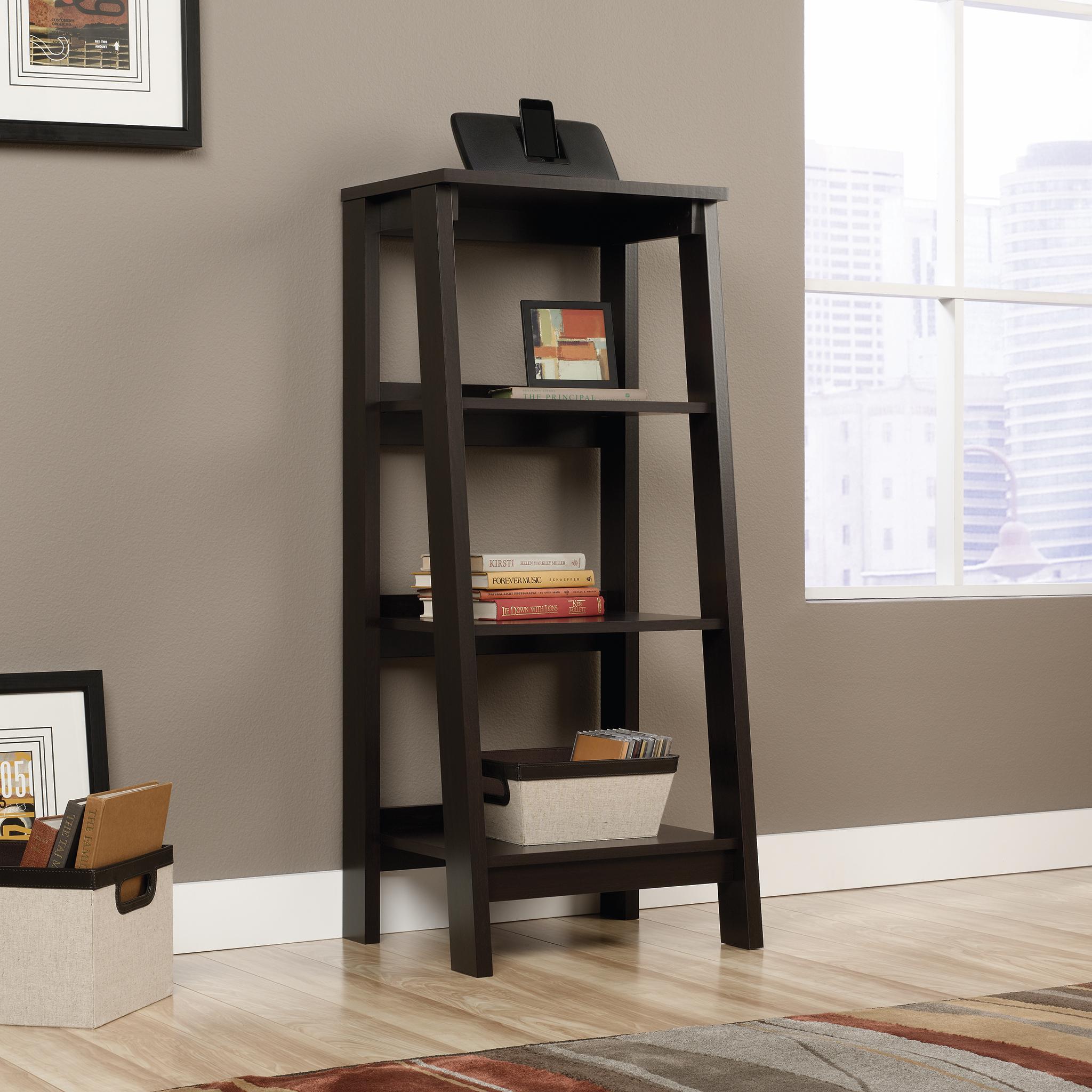 Sauder Trestle 3-Tier Bookcase