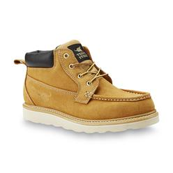 Texas Steer Men's Ultan Wheat Soft Toe Work Boot at Kmart.com