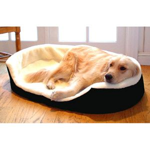 Majestic Pet Large 36 x 24 Lounger Dog Pet Bed