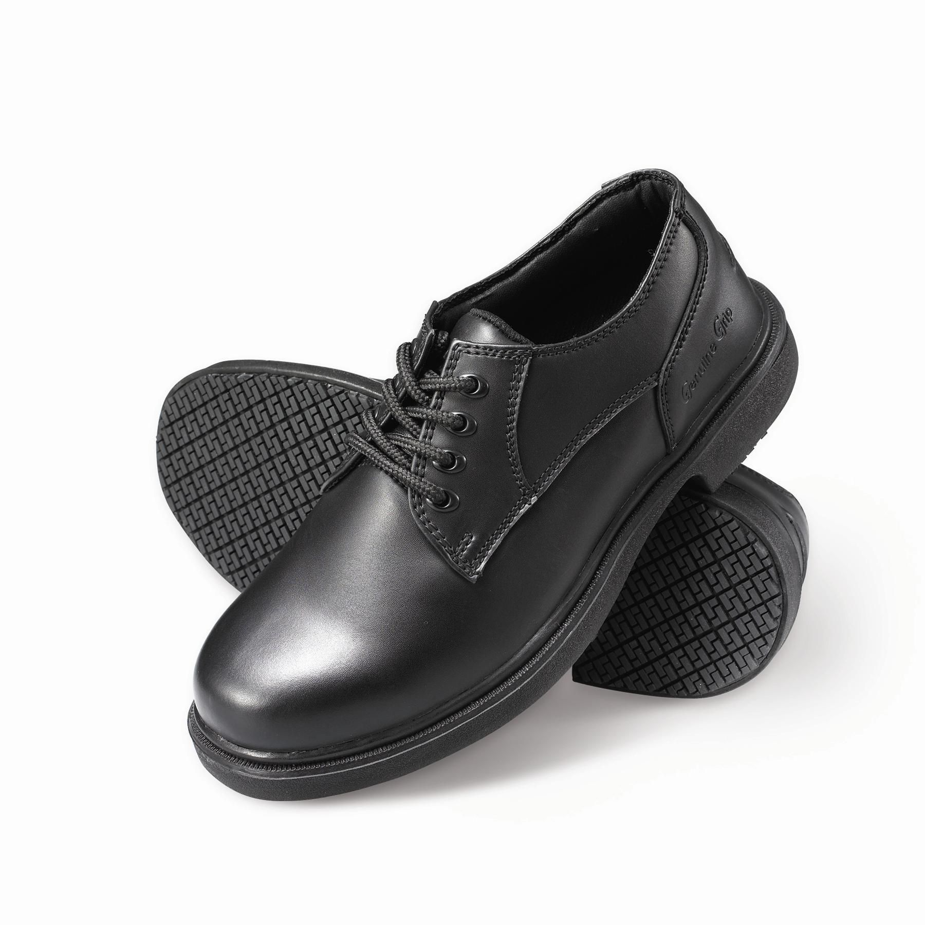 Men's Slip-Resistant Oxfords Work Shoes