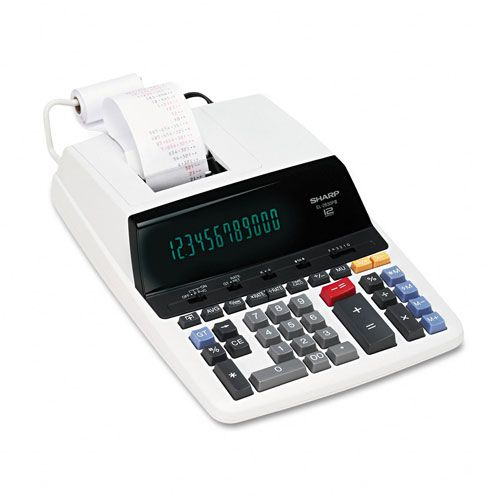 Sharp EL2630PIII Two-Color Printing Calculator