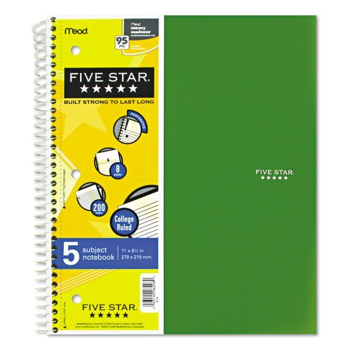 Mead Five Star Wirebound Notebooks