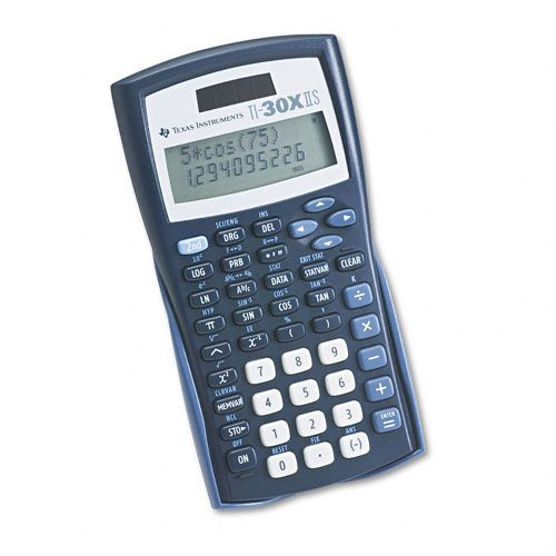 Texas Instruments TI-30X IIS Scientific Calculator, 10-Digit LCD