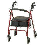 Nova Ortho-Med Inc Get Go Classic Rolling Walker 4202CRD  -  Red at Kmart.com