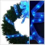 Starlite Creations 9Ft LED Ribbon Lights, 54 Lights, Blue at Kmart.com