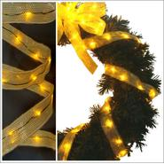 Starlite Creations 9Ft LED Ribbon Lights, 54 Lights, Gold at Kmart.com