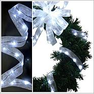 Starlite Creations 9Ft LED Ribbon Lights, 54 Lights, White at Sears.com