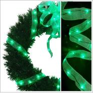 Starlite Creations 18Ft LED Ribbon Lights, 108 Lights, Green at Kmart.com