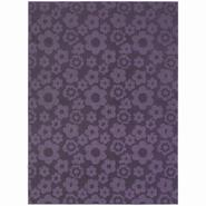 Garland Rug Flowers Purple 7 Ft. 6 In. x 9 Ft. 6 In. Area Rug at Kmart.com