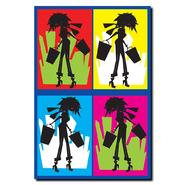 "Trademark Fine Art Grace Riley 'Shopaholic' 14"" x 19"" Canvas Art at Kmart.com"