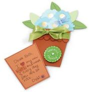 SIZZIX BY ELLISON Bigz Big Shot Pro Die-Flower Pot W/Flowers-Leaf Card & Pocket at Kmart.com