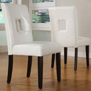 Oxford Creek Keyhole Back Side Chairs (Set of 2) at Kmart.com