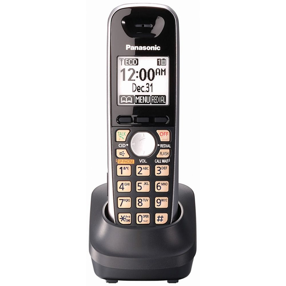 Panasonic KX0TGA651B DECT 6.0 Plus Cordless Handset for K-TG6500 Series