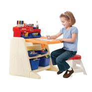 Step 2 Flip & Doodle Easel Desk with Stool at Sears.com