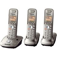 Panasonic KX-TG4013N DECT 6.0 Plus 1.9 GHZ Expandable Digital Cordless Phone with 3 Handsets at Sears.com