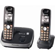Panasonic KX-TG6512B DECT 6.0 Plus Expandable Digital Cordless Phone with 2 Handsets at Sears.com