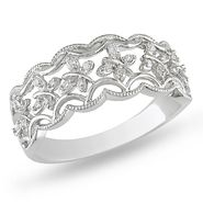 Diamond Accent Fashion Ring in Sterling Silver at Sears.com