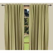 "Ricardo Trading Elegance Insulated/Thermal foam-backed DOUBLE-WIDE 108"" x 84"" backtab panel in Celadon/Green at Kmart.com"
