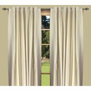 "Ricardo Trading Elegance Insulated/Thermal foam-backed DOUBLE-WIDE 108"" x 84"" backtab panel in Ivory/Natural at Kmart.com"