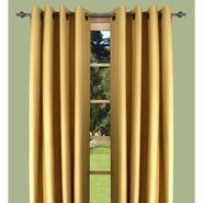 "Ricardo Trading Elegance Insulated/Thermal foam-backed 72"" grommet panel in Gold at Kmart.com"
