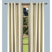 "Ricardo Trading Elegance Insulated/Thermal foam-backed DOUBLE-WIDE 108"" x 84"" grommet panel in Ivory/Natural at Kmart.com"