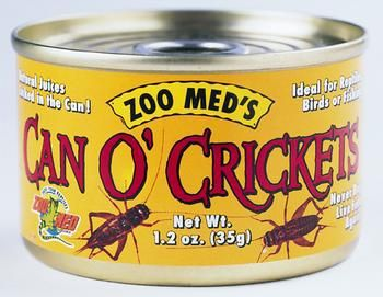 Zoo Med Laboratories ZML Food Can o' Crickets 1.2 oz