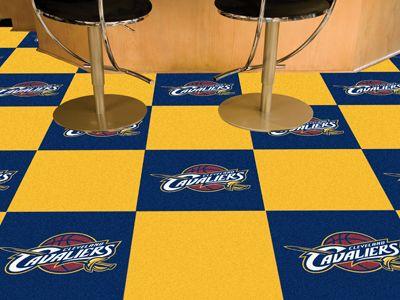 Fanmats Cleveland Cavaliers Carpet Tiles