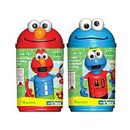 K'Nex SESAME STREET KICK-IT ELMO & COOKIE MONSTER BASKETBALL CANISTER SET BUNDLE at Sears.com