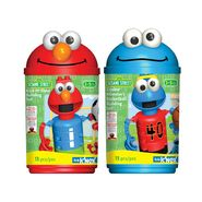 K'Nex SESAME STREET KICK-IT ELMO & COOKIE MONSTER BASKETBALL CANISTER SET BUNDLE at Kmart.com