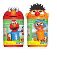 K'Nex SESAME STREET KICK-IT ELMO & SWIM TIME ERNIE CANISTER SET BUNDLE at Sears.com