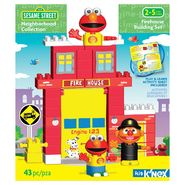 K'Nex SESAME STREET NEIGHBORHOOD COLLECTION FIRE HOUSE BUILDING SET at Kmart.com