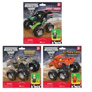 K'Nex MONSTER JAM THREE TRUCK ASST BUNDLE at Kmart.com