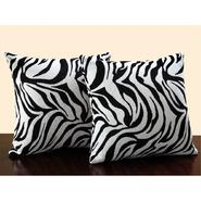 Oxford Creek Square Zebra Print Throw Pillow (Set of 2) at Kmart.com