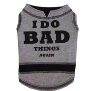 "Bark Bone ""I do mad things again"" Doggy Tee - Large at Kmart.com"