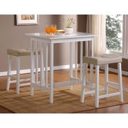 Oxford Creek Counter Height Dining Set in White at Kmart.com