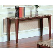 Oxford Creek Sofa Table in Faux Marble at Sears.com