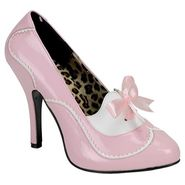 Bordello Women's Tempt 02 - Baby Pink/White Patent at Sears.com