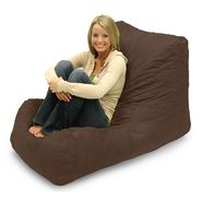 Comfort Research Wedge Fuf Chair in Chocolate Brown Microsuede at Kmart.com