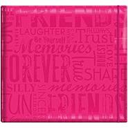 "MBI Gloss Scrapbook 12""X12-Friends-Pink at Kmart.com"
