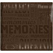 "MBI Gloss Scrapbook 12""X12-Memories-Brown at Kmart.com"
