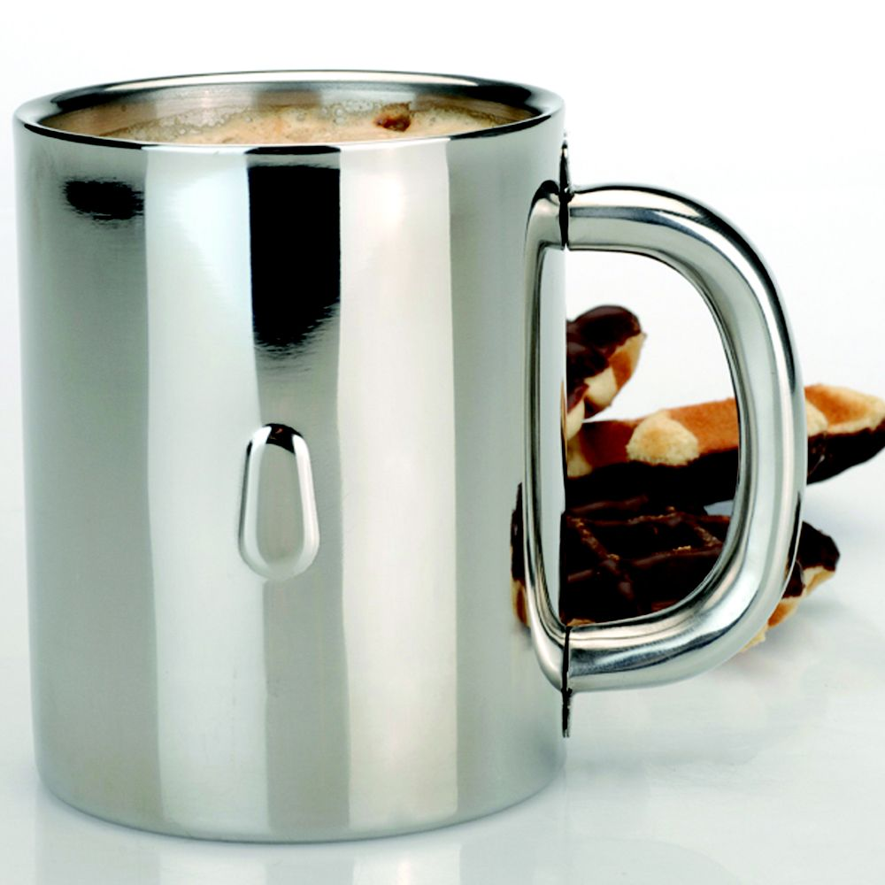 BergHOFF Stainless Steel Coffee Mug                                                                                              at mygofer.com