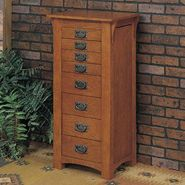 "L Powell ""Mission Oak"" Jewelry Armoire at Sears.com"