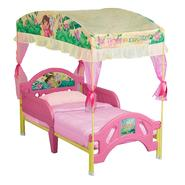 Delta Childrens Dora the Explorer Toddler Bed with Canopy at Kmart.com
