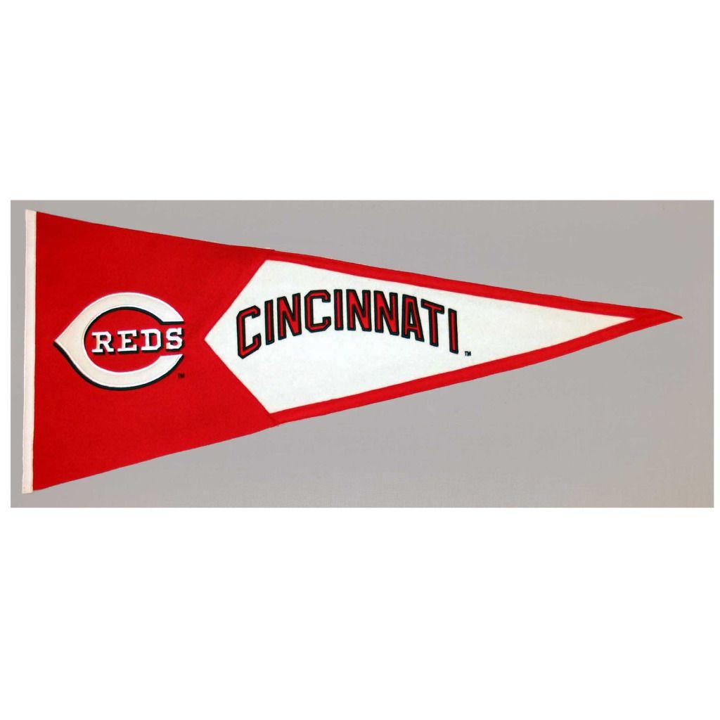 Winning Streak Cincinnati Reds Classic Wool Pennant