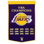 Winning Streak Los Angeles Lakers NBA Dynasty Banner at Kmart.com